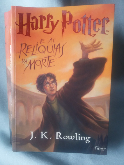 Antigo Livro Harry Potter E As Relíquias Da Morte- Nº 2693g