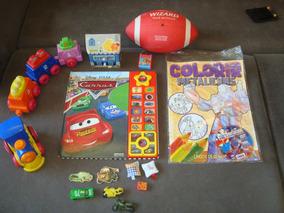 Lote De Brinquedos - Meninos - 3/5 Anos - Variados