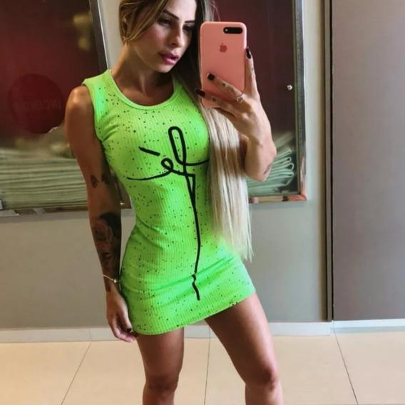 Atacado Revenda Vestido Neon Fé Moda 2019 Carnaval Kit C/10