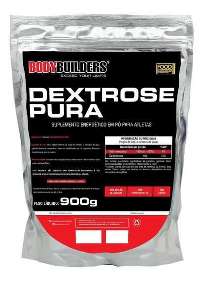 Dextrose Pura 900g Natural Bodybuilders Parcelado Sem Juros