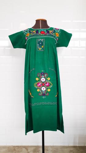 Vestido Mexicano Midi Bordado A Mão Plus Size - Varal