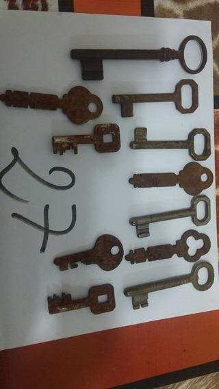 Goya Llaves Antiguas De Puertas Decoración 11 Llaves Por Lot