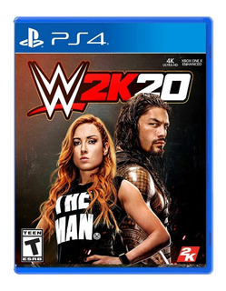 Juego Fisico Original Wwe 2k20 Sony Playstation Ps4 Oficial