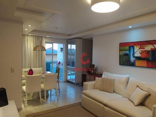 Imagem 1 de 30 de Apartamento Com 3 Dormitórios À Venda, A 200 M Da Praia - Ap1605