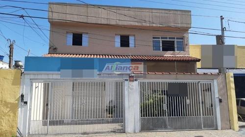 Sobrado Com 5 Dormitórios À Venda, 515 M² - Vila Flórida - Guarulhos/sp - Ai17942