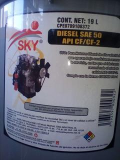 Paila Diesel Sae 50 Sky (19 Litros)