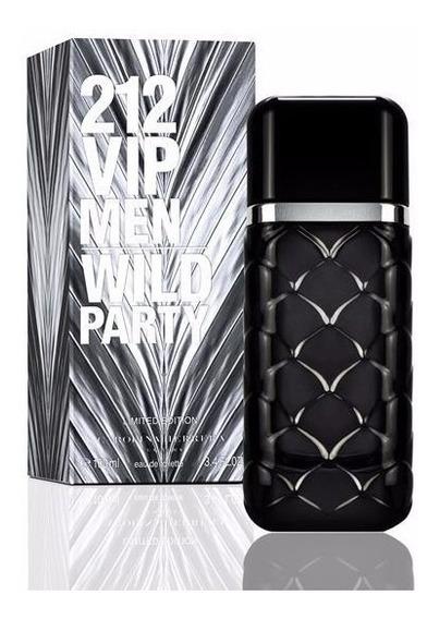 Perfume 212 Vip Wild Party Masculino 100 Ml