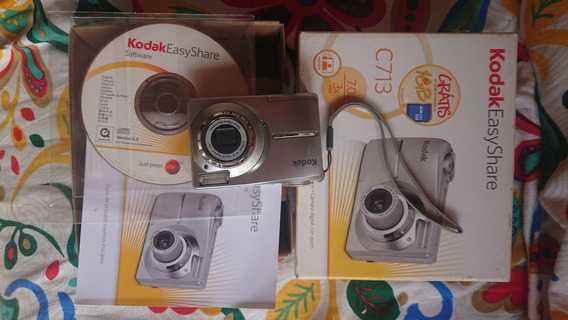 Câmera Kodak Easy Share C713 Na Caixa