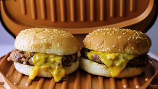Parrilla Eléctrica Hamburger Grill Cv Directo Cobre -titanio