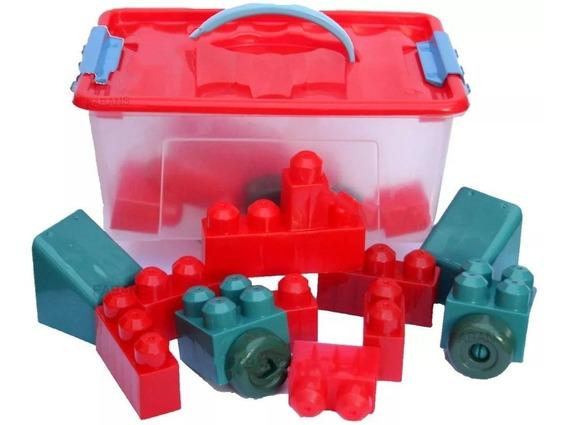 Maletin Lego Piezas Grande Caja Juguete Didactico Bebe Niño