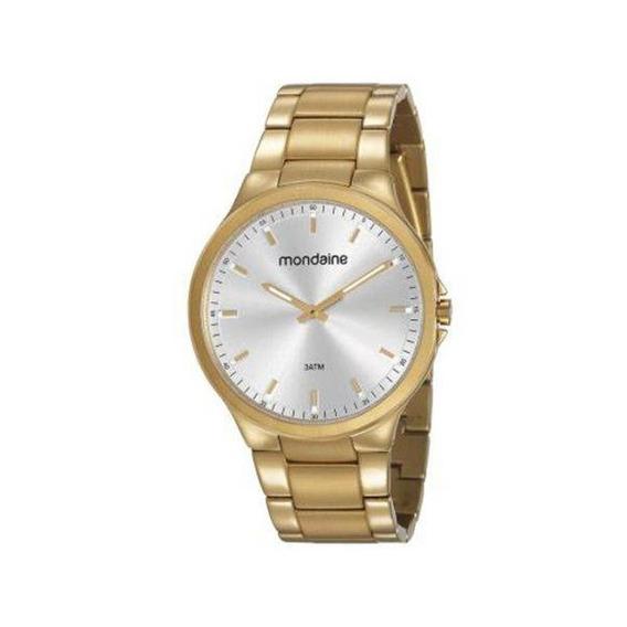 Relógio Mondaine Masculino Dourado 53714gpmvda1