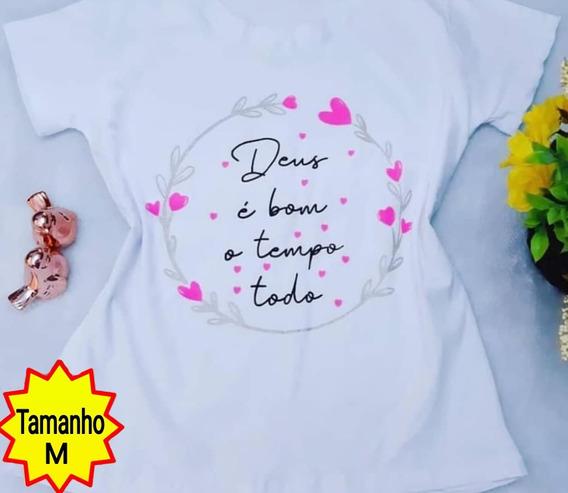 Blusa Feminina T-shirt Em Oferta !!! Adquira Já A Sua!!!