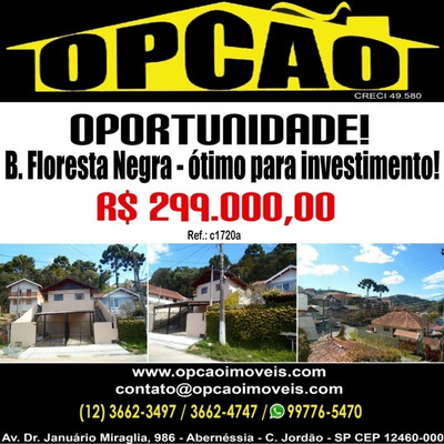 B. Floresta Negra - Ótimo Para Investimento! - C1720a