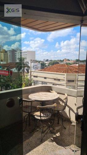 Imagem 1 de 16 de Apartamento Com 3 Dormitórios À Venda, 130 M² Por R$ 450.000 - Centro - São José Do Rio Preto/sp - Ap1859