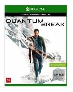 Quantum Break + Alan Wake (mídia Física) - Xbox One (novo)