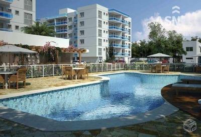 Cobertura Duplex Com 164 M², 3 Qts, Sendo 1 Suite, Terraço Com Vista Mar, Recreio - Rio Das Ostras - Co0015