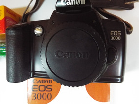 Câmera Canon Reflex 35mm Eos 3000 - Analógica