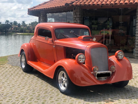 Chevrolet Hot Rod Chevy Coupe 1934 V8 Coupé 3 Janelas