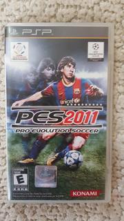 Pro Evolution Soccer 2011 Pes 2011 Playstation Portable Psp