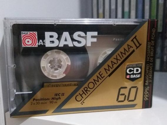Fita Cassete Basf Chrome Máxima 60 Lacrada Frete R$ 13 :)