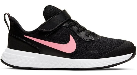 Zapatillas Nike Revolution 5 (psv) Niñas Bq5672-002