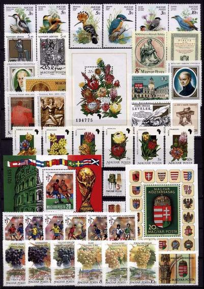 Selos Da Hungria 18 Anos Completos Mint Veja Relação