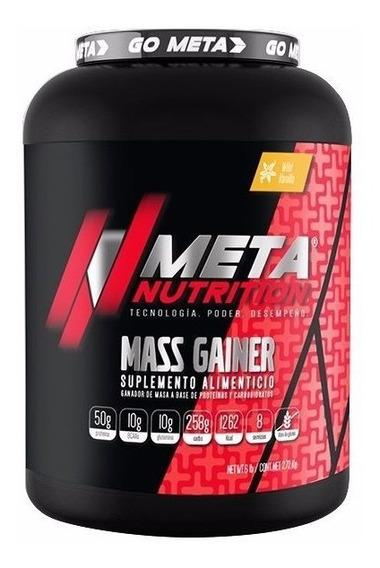 Proteina Meta Nutrition Mass Gainer 6 Lbs Sabor Chocolate
