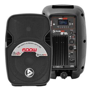 Parlante Activo Bluetooth/usb/fm Pl600x 600 Watts