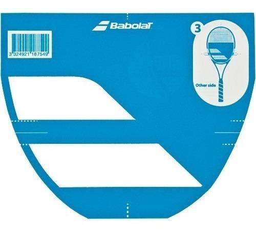 Stencil Molde Plantilla Logo Babolat Encordado Raqueta Tenis Baires Deportes Distr Oficial Local En Oeste Gran Bs As