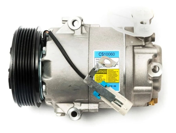 Compressor De Ar Delphi Celta/prisma - 6pk- Sem Juros+frete
