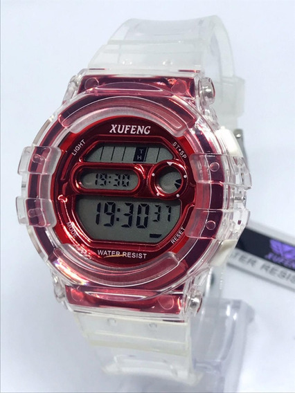 Relógio Unissex Original Xufeng Exclusivo Aprova De Água+cx