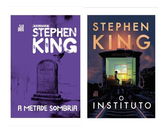 Livro A Metade Sombria + O Instituto - Stephen King