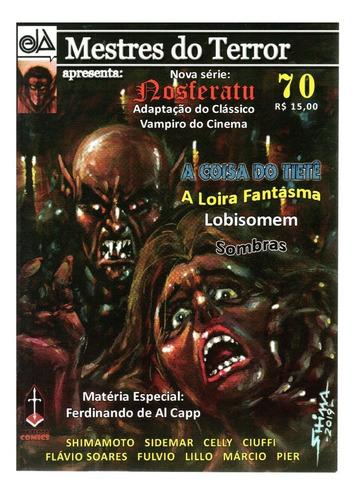 Mestres Do Terror 70 - Ink&blood - Bonellihq Cx30 F19