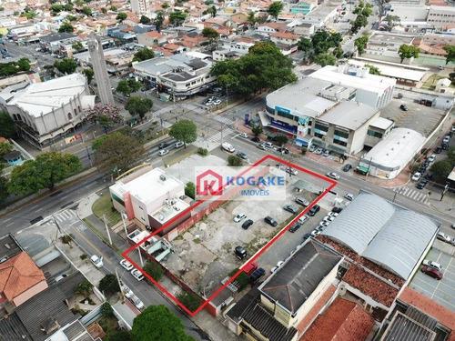 Terreno Para Alugar, 1000 M² Por R$ 21.800,00/mês - Jardim Satélite - São José Dos Campos/sp - Te1009