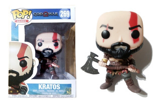 Muñeco Kratos God Of War Funko Pop! Games #269
