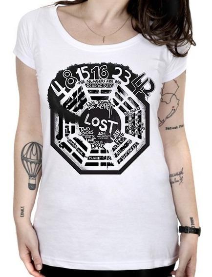 Camiseta Feminina Lost