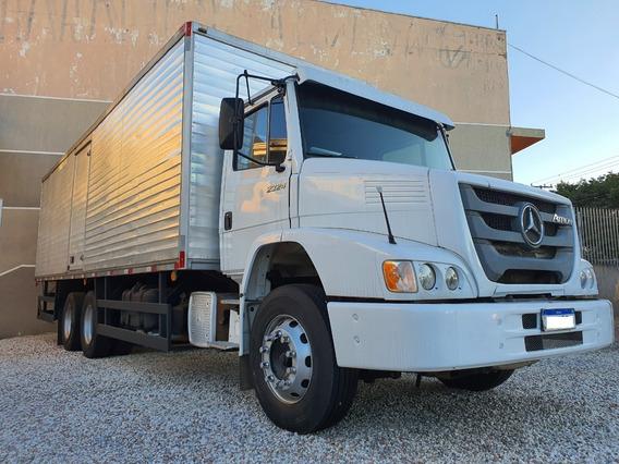 Mb Atron 2324 Truck 6x2 Ano 2012 Com Bau 8.50m X 2.40m