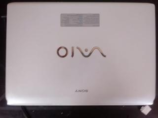 Laptop Sony Vaio Blanca