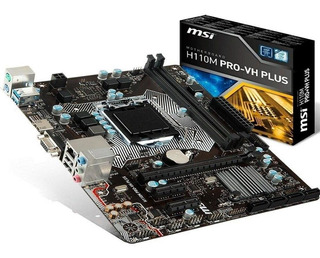 Placa Madre Msi H110m Pro-vh Plus - Techbox