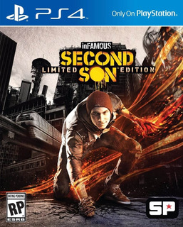 Infamous Second Son Ps4 Original Fisico Sellado Blu-ray Full