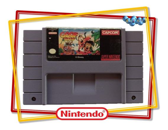 Goof Troop Pateta Original Super Nintendo - 100% Original