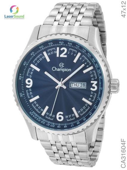 Relógio Champion Masculino Ca31604f, C/ Garantia E Nf