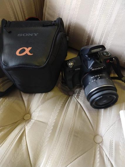 Kit Câmera Fotográfica Profissional Sony Alpha A-230