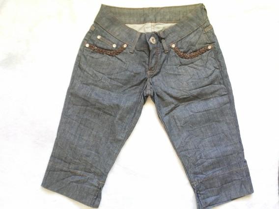 Calça Capri Jeans Feminina Da Zoomp Ref. 630110233