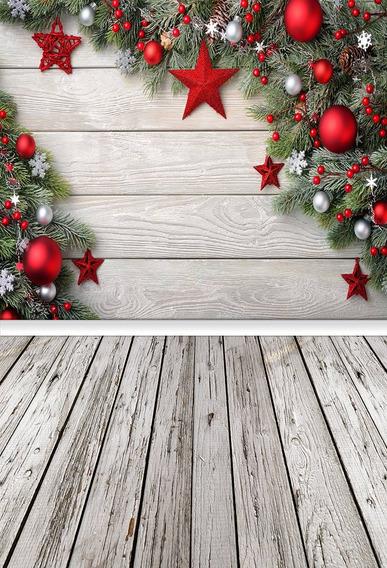 Fundo Fotográfico Tecido Estrelinhas De Natal 1,50m X 2,50m