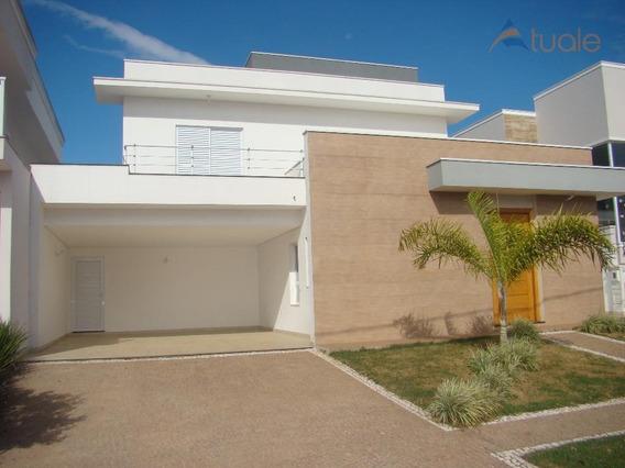 Casa Residencial À Venda, Parque Brasil 500, Paulínia - Ca3296. - Ca3296