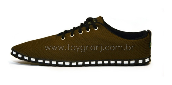 Tenis Taygra Modelo Comfort Marrom