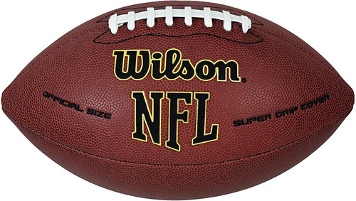 Balon Futbol Americano Wilson Nfl Super Grip Tamaño Oficial