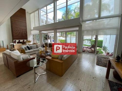 Imagem 1 de 30 de Sobrado Com 5 Dormitórios À Venda, 655 M² Por R$ 7.500.000,01 - Alphaville 0 - Barueri/sp - So4387