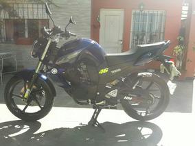 Yamaha Fz 16 2015 Azul 6000 Km.